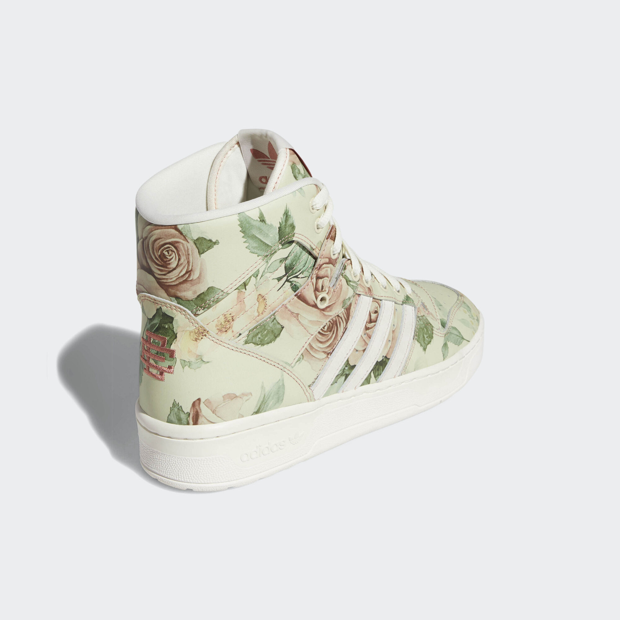 Adidas Eric Emanuel Rivalry Hi OG Off White / Raw Pink / Cloud White (F35092)