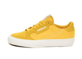 adidas Continental Vulc (Bold Gold / Ftwr White / Bold Gold)