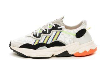 adidas Ozweego *Era Pack* (Ftwr White / Solar Green / Ftwr White)