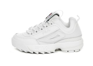 FILA Disruptor II Patches Wmn (White)