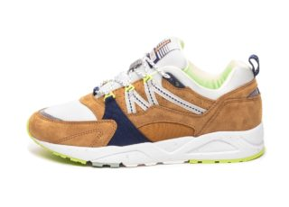 Karhu Fusion 2.0 *Catch of the Day Pack* (Buckthorn Brown / Blue Flowe