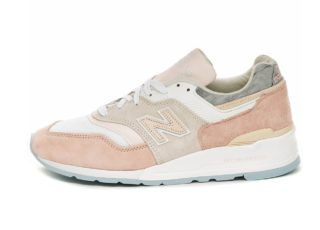 New Balance M997LBH *Made In USA* (White / Pink)
