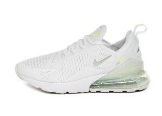 Nike Air Max 270 (White / Metallic Silver - Volt)