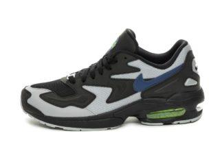 Nike Air Max² Light (Black / Thunderstorm - Wolf Grey - Volt)