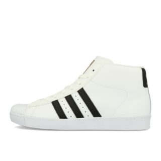 adidas Pro Model Vulc ADV White Black Gold