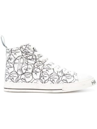 Haculla One Of A Kind hi-top sneakers - Wit