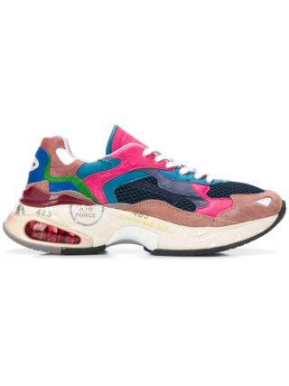 Premiata Chunky low-top sneakers - Roze