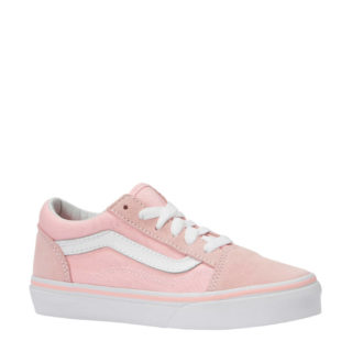 ef02e4fca95 VANS Old Skool suède sneakers lichtroze (roze)