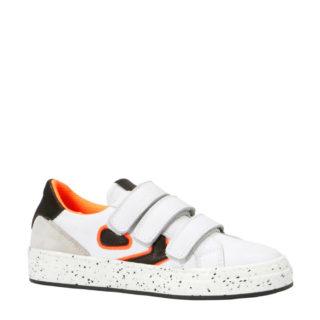 Kanjers sneakers met suède (wit)