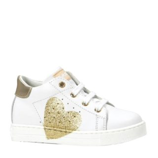 Falcotto Heart Vitello sneakers wit/goud (wit)
