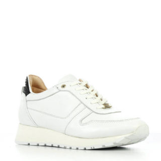 Fred de la Bretoniere leren sneakers wit (wit)