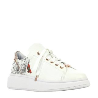 Ted Baker Ailbe 3 leren sneakers wit (wit)
