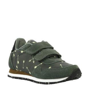 Woden Wonder Nora Arrow sneakers donkergroen (groen)