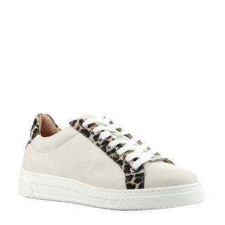 Unisa Franci leren sneakers wit (wit)