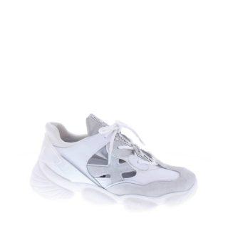 Bronx Franky-James leren dad sneakers wit/lichtgrijs (wit)