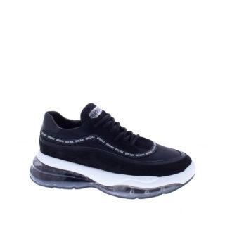 Bronx Bubbly leren dad sneakers zwart (zwart)