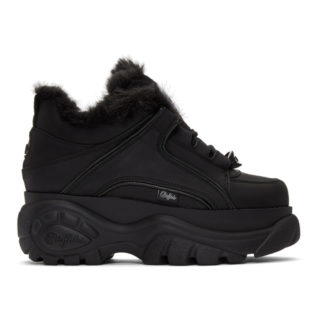 Junya Watanabe Black Buffalo London Edition Platform Sneakers