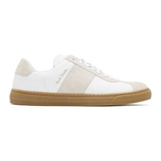 Paul Smith White Levon Sneakers
