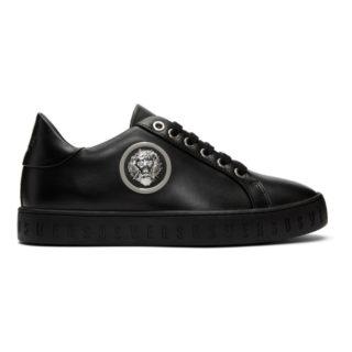 Versus Black Lion Sneakers