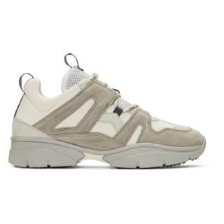 Isabel Marant Grey Kindka Sneakers