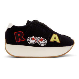 Marni Dance Bunny Black Patch Bigfoot Sneakers