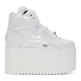 Junya Watanabe White Buffalo London Edition Rising Towers High Sneakers