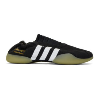 adidas Originals Black Taekwondo Sneakers