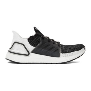adidas Originals Black and White UltraBOOST 19 Sneakers