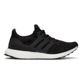 adidas Originals Black and White UltraBOOST Sneakers