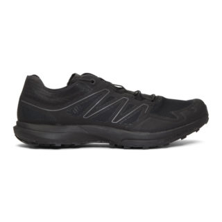 Salomon Black Limited Edition Sense Sprint ADV Sneakers