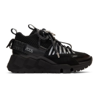 Pierre Hardy Black Victor Cruz Edition VC1 Sneakers