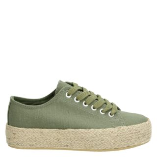 Nelson platform sneakers groen