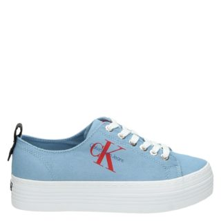 Calvin Klein Zolah platform sneakers blauw