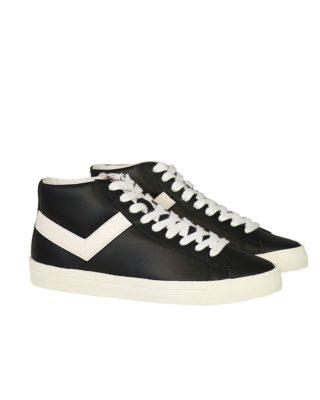 Pony Sneakers 17q-ax1 top star 17 zwart