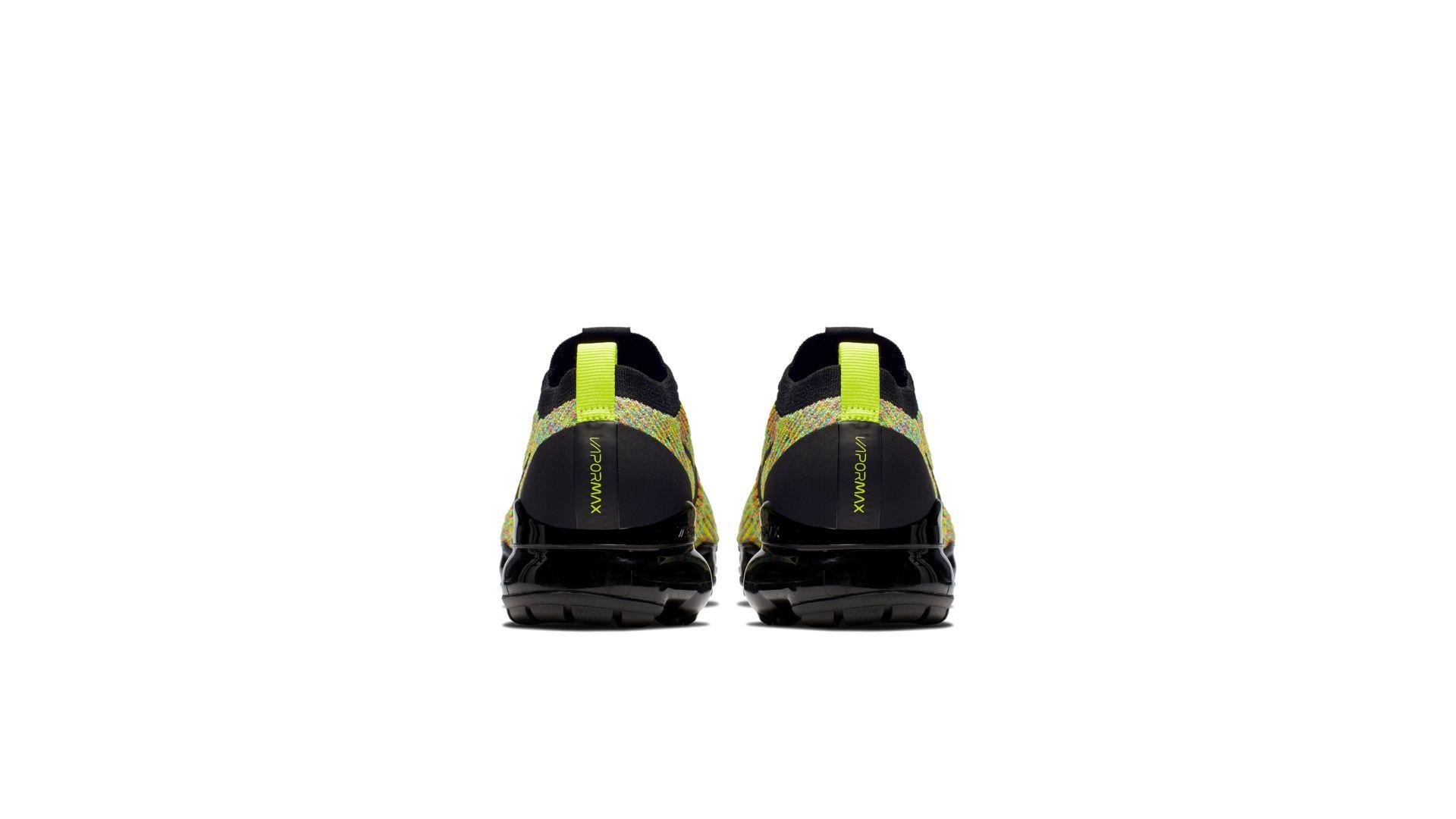 Nike Air Vapormax FK 3 'Black Volt' (AJ6910-004)