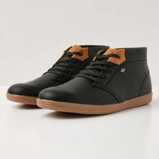 British Knights copal mid heren sneakers hoog - zwart - maat 43 (zwart)