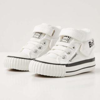 British Knights roco baby jongetjes sneakers hoog - wit - maat 22 (wit)