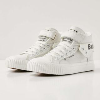 British Knights roco meisjes sneakers hoog - wit - maat 33 (wit)