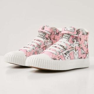 British Knights dee meisjes sneakers hoog - licht roze - maat 29 (roze)