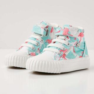 British Knights dee baby meisjes sneakers hoog - roze flamingo - maat 27 (groen)