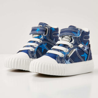 British Knights dee baby jongetjes sneakers hoog - donker blauw - maat 21 (blauw)