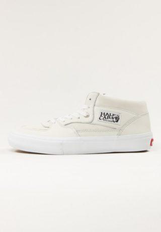 Vans Half Cab Pro - (Leather) White