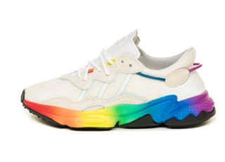 adidas Ozweego *Pride* (Off White / Blue Tint / Core Black)
