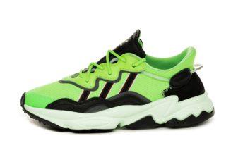 adidas Ozweego (Solar Green / Core Black / Glow Green)