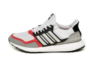 adidas Ultra Boost S&L (Ftwr White / Grey Two / Scarlet)