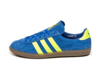 adidas Whalley SPZL (Bold Blue / Solar Yellow)