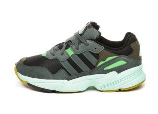 adidas Yung-96 (Core Black / Legend Ivy / Raw Ochre)