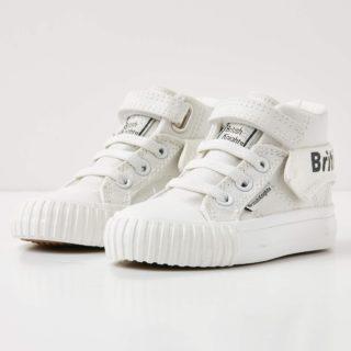 British Knights roco baby meisjes sneakers hoog - wit - maat 21 (wit)