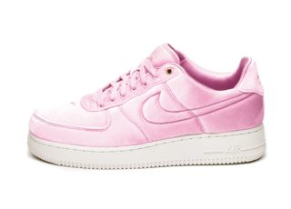 Nike Air Force 1 '07 PRM 3 (Pink Rise / Pink Rise - Sail - Metallic G
