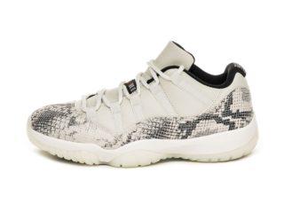 Nike Air Jordan 11 Retro Low LE *Snakeskin Light Bone* (Light Bone / U